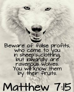 Wolf in sheep's clothing.