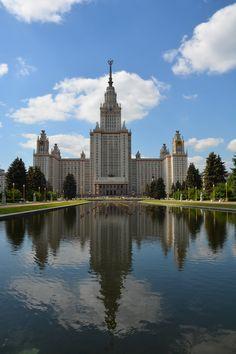 Lomonosov state university in Moscow.