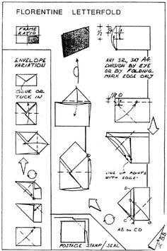 Envelope and Letter Folding: Florentine Letterfold Origami Envelope, Envelope Art, Fold Envelope, Origami Boxes, Letter Folding, Paper Folding, Candy Letters, Diy Paper, Paper Crafts
