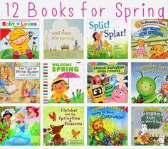 12 #Springtime Books for Kids.