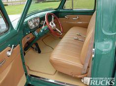 1955 ford f100 original interior - Google Search