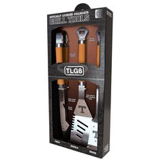 Tennessee Volunteers NCAA 3-pc. Stainless Steel Barbecue Set