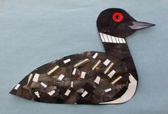This iconic bird of Canada can be made two different ways depending how old the child is, either making it into an elaborate collage, or layering a few scraps of white paper onto a black loon. Get the instructions here: DLTK Preschool Projects, Projects For Kids, Art Projects, Crafts For Kids, Arts And Crafts, Preschool Ideas, Fun Crafts, Craft Ideas, Canadian Animals
