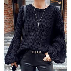 6mlodg-l-610x610-sweater-black-trendy-style-warm-cozy-stylish-winter-knitwear-long+sleeves-clothes-winter+sweater-cool