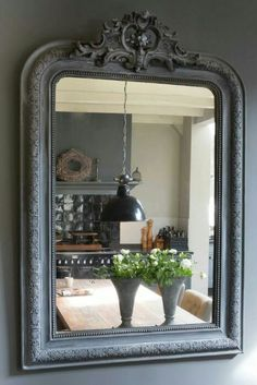 Large mirrors make small rooms feel bigger....always consider the view the mirror is reflecting.