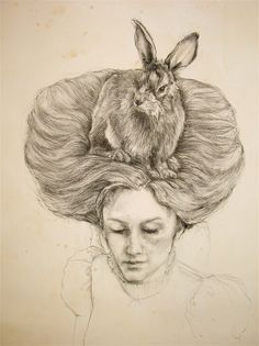 have always loved incorporating animals and objects into the hair