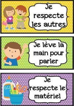 affichages pour la classe French Teaching Resources, Teaching French, French Education, Kids Education, French Flashcards, French Worksheets, French Language Lessons, French Classroom, Educational Activities