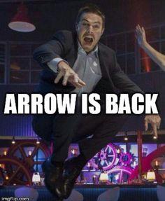 #arrow #season4 ||| literally how I felt for the premiere