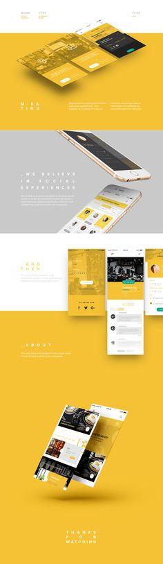 App Concept on Behance