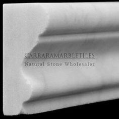 Carrara Marble, Marble Tiles, Hexagon Mosaic Tile, Moulding Profiles, Italian Marble, Commercial Flooring, Floor Colors, Shower Remodel, Crown Molding