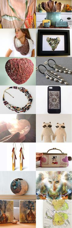 Gift ideas - December by Artelem on Etsy--Pinned with TreasuryPin.com
