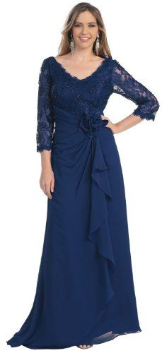 Mother of the Bride Formal Evening Dress #813 (Medium, Navy Blue) US Fairytailes,http://www.amazon.com/dp/B009JM8UF2/ref=cm_sw_r_pi_dp_JNv6sb1JJG8KWT8V
