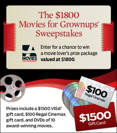 sweepstakes for free movies