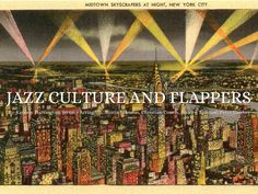 Jazz Cultures And Flappers - Presentation Software that Inspires Free Presentation Software, Jazz Age, Flappers, Haiku, City Photo, Deck, Christian, Culture, Front Porches