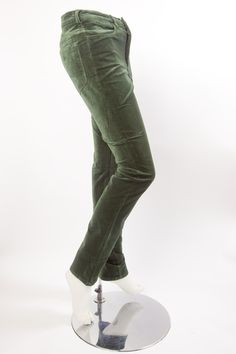 Olive green velour jeans £89 Real Women, Amazing Women, Snappy Casual, Velour Fabric, High Waist Jeans, Olive Green, Fashion Forward, Feminine, Sweatpants