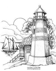 Sailing Ships and Lighthouses - download
