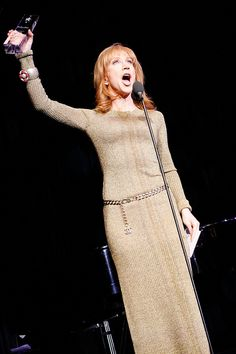 Comedian Kathy Griffin received the Trevor Hero Award in 2010 and Trevor Live Los Angeles.