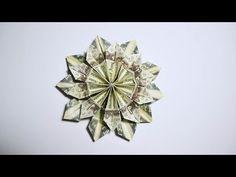 Cool money flower origami dollar tutorial diy folded no glue easy and fast money flower origami 10 dollar bills tutorial diy folded no glue youtube mightylinksfo