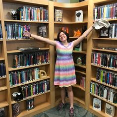 When in Florida most want to go to the beach  @kenna_hartian wants to go to the library and check out the books