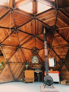 The Domes in Oz Farm, California | *The Domes are closed for winter, but will be back open for spring/summer*The Domes, a double-dome geodesic structure perched over the south...