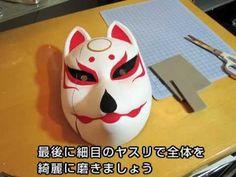 画用紙でスカルマスクの作り方 ドクロの仮面 ハロウィン仮装や手作りコスプレ衣装に - YouTube