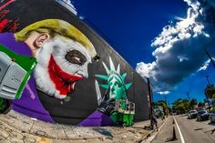 street art bushwick collective new york brooklyn nyccrazygirl anti-trump New York Street Art, Street Art News, Donald Trump, Graffiti, Miami, Ville New York, Crazy Girls, Keith Haring, New Art