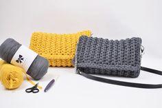 Hæklet rib clutch - Tante tråd