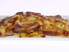 Pork Chops with Apples and Pancetta Recipe : Giada De Laurentiis : Food Network - FoodNetwork.com