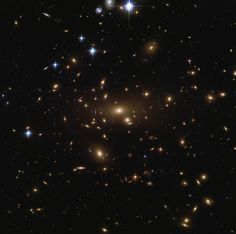 Abell 665 is located in the well-known northern constellation of Ursa Major (The Great Bear). Abell 665 is the only galaxy cluster in Abell's entire catalogue to be given a richness class of 5, indicating that the cluster contains at least 300 individual galaxies. The cluster has been studied extensively at all wavelengths, resulting in a number of fascinating discoveries:it hosts a giant radio halo, powerful shockwaves, and has been used to calculate an updated value for the Hubble…