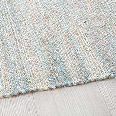 Gewebter Teppich aus Jute und Baumwolle 160x230 | Maisons du Monde
