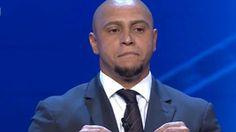 Roberto Carlos vira meme após devolver bolinha em sorteio (Reprodução/Twitter)