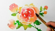 Watercolor Painting - Roses - Jay Art
