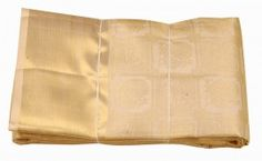 1Off white Pure zari silk saree - kss985496