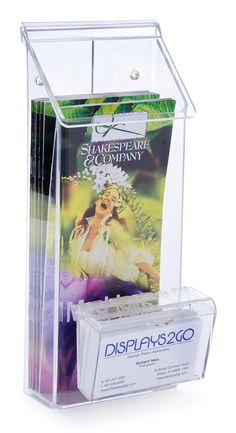 Leaflet Holders /& Business Card Holders /& Outdoors Leaflet Dispensers