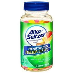 Alka-Seltzer Heartburn ReliefChews Chewable Tablets Assorted Fruit - 36 ea