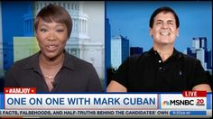 """Mark Cuban Destroys Trump on Debate, """"The Audience was Laughing at him"""""""