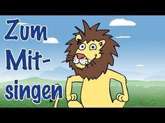 ♪ ♪ Wir gehen heut' auf Löwenjagd - Wir woll'n heut Löwen sehn - Mitsingversion - Kinderlied ♪ ♪ - YouTube
