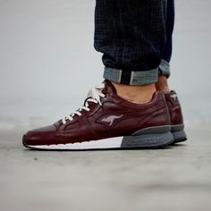 "KangaROOS Coil-R1-Lea ""Bordeaux"" - EU Kicks Sneaker Magazine"