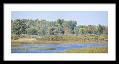 #iowa #photography #fineart #art #gifts Autumn On The Marsh By Bonfire Photography