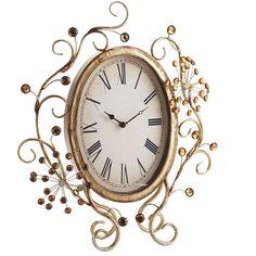 1000 Images About Jeweled Clocks On Pinterest Vintage