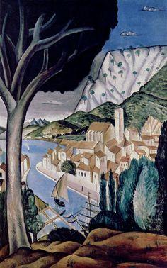 'Martigues', 1913 - Andre Derain