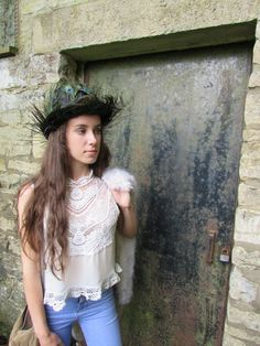 A personal favourite from my Etsy shop https://www.etsy.com/uk/listing/543973893/victorian-inspired-reworked-boho-blouse