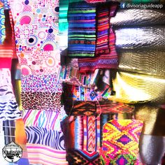 Textile samples for manufacturing local shoes, bags, rtw and other fashionable items :) Are you familiar with these on-trend textures and designs (aztec patterns, mustache prints, gold and silver textures)? :)  DivisoriaGuide App will launch tommorow 5pm. Stay tuned! :)   Photo taken at Bagong Kaisahan Store, 730 Juan Luna St., #Divisoria (intersection of Juan Luna St., Sta. Elena St. and Ylaya St.). They also have a branch in #Marikina :)  #Business #Entrepreneur #Manufacturer #Textiles Aztec Patterns, Art And Craft Materials, Business Entrepreneur, Stay Tuned, Arts And Crafts, Fabrics, Product Launch, Textiles, Silver