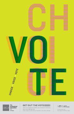 CHOICE + VOICE = VOTE