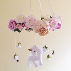Just listed! Unicorn dancing amongst the roses!