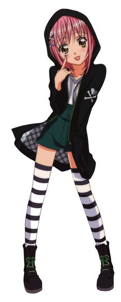 I absolutely love Amu Hinamori's fashion from Shugo Chara.