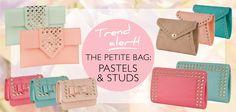 THE PETITE BAG: PASTEL & STUDS