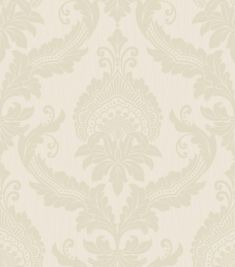 Siena Cream Cotton wallpaper by Albany