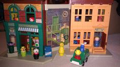 Picture of Sesame Street Block - old fisher price toys