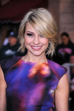 Chelsea Kane Painted Pirate Hair love her shirt Latest Short Hairstyles, Cute Hairstyles For Short Hair, Hairstyles Haircuts, Pretty Hairstyles, Short Hair Styles, Bob Hairstyle, Chelsea Kane Short Hair, Pirate Hair, Medium Short Hair